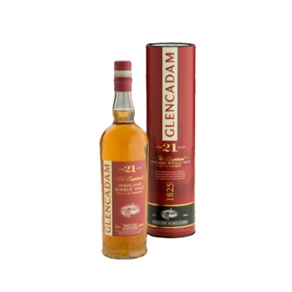 Whisky Glencadam - Single Malt 21 ans - Ecosse - Highlands Scotch Whisky