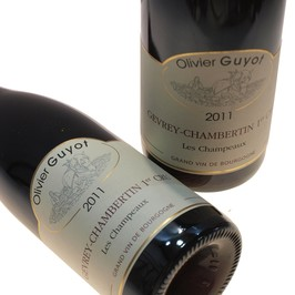 Domaine Olivier Guyot : Gevrey Chambertin - 1er cru les Champeaux- Rouge 2011
