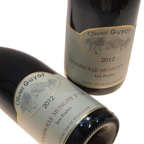 Olivier Guyot Chambolle Musigny 1er Cru les Fuées Red wine 2012