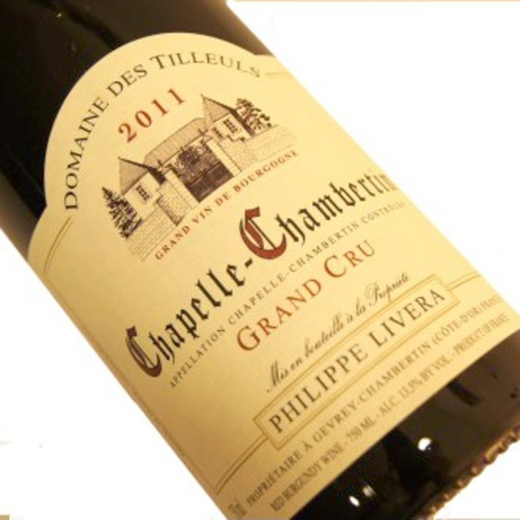 Domaine des Tilleuls Philippe Livera : Chapelle Chambertin - Red wine 2013