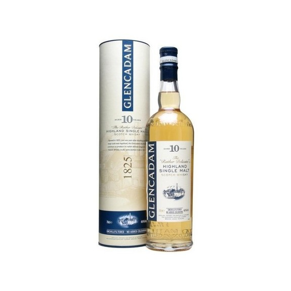 Whisky Glencadam 10 ans   Single Malt Highland Scotch Whisky