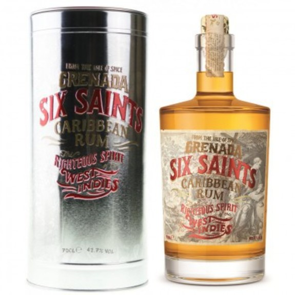 Rhum vieux Six Saints from Grenada Islands