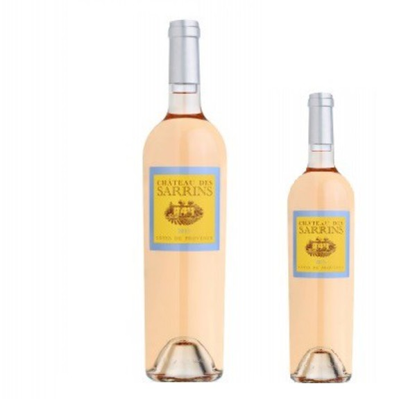 Chateau des Sarrins Rose wine Magnum Size
