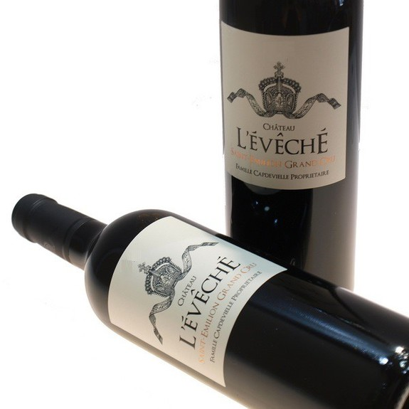Chateau L'Eveche Saint Emilion Grand Cru bordeaux