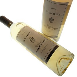 Chateau Salettes Bandol white wine
