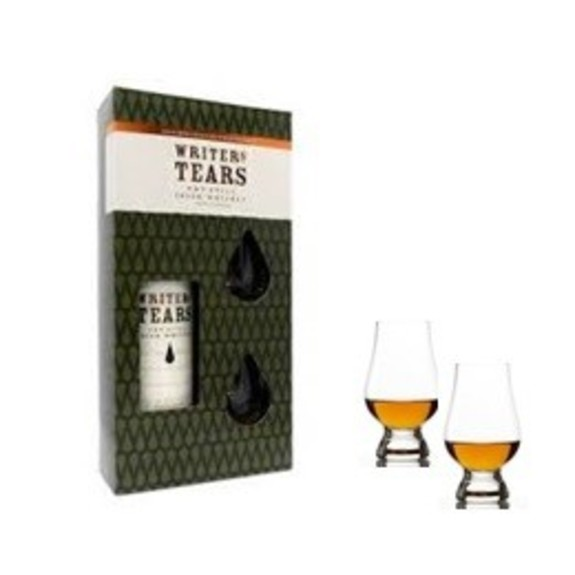 Coffret Whisky Writer's tears + 2 verres