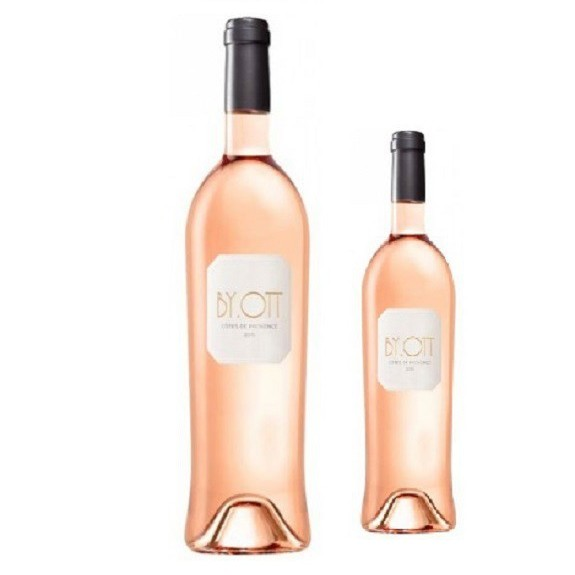 By Ott  Rose wine magnum size