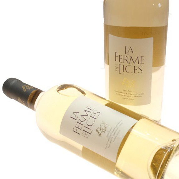 La Ferme des lices white wine
