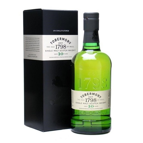 Whisky Tobermory 10 ans Single Malt Ecosse