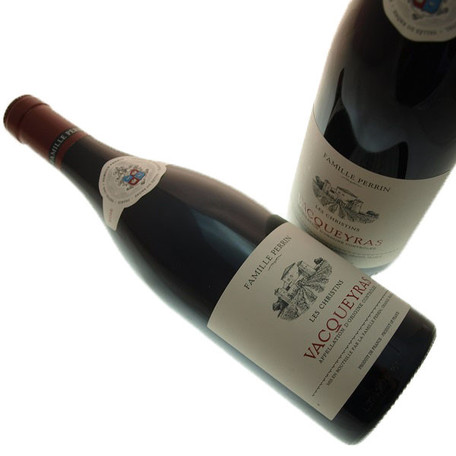 Famille Perrin Vacqueyras les Christins red wine