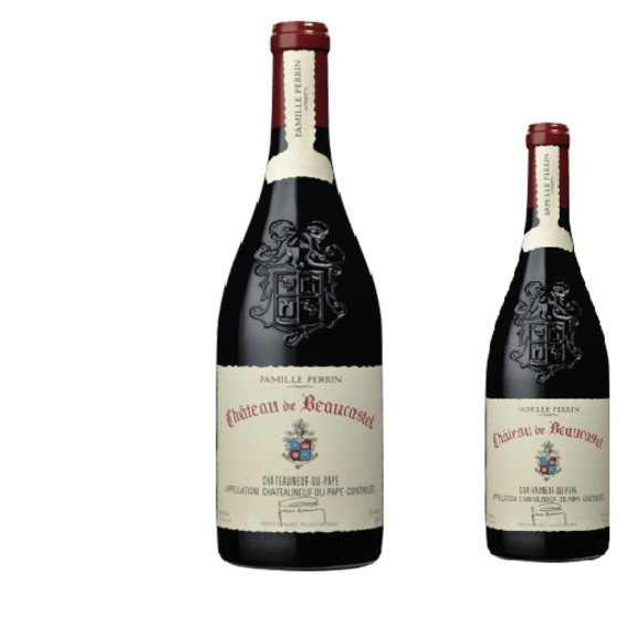Magnum Chateau de Beaucastel Chateauneuf du Pape Red wine 2017