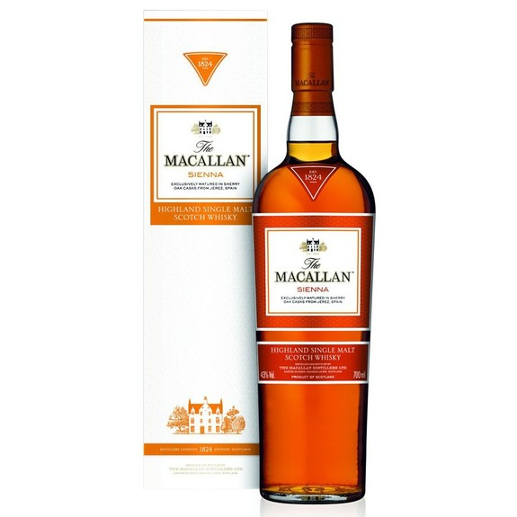 Whisky The Macallan Sienna - Single Malt - Ecosse - Speyside Scotch Whisky