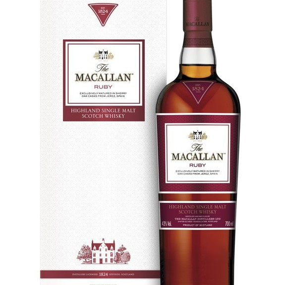 Whisky The Macallan Ruby - Single Malt - Ecosse - Speyside Scotch Whisky