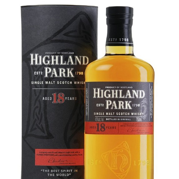 Whisky Highland Park 18 Ans - Ecosse - Single Highland Malt Scotch Whisky